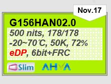 G156HAN02.0