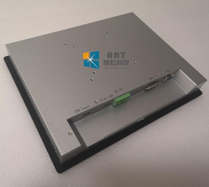 17寸电阻触摸屏工业显示器